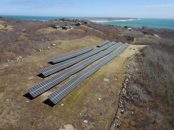 solar plus energy storage system to power Cuttyhunk Island off the coast of Massachusett